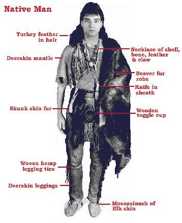 wampanoag clothing in the 17th century
