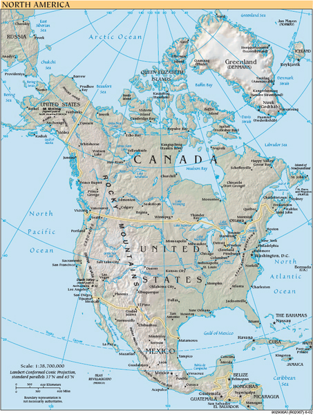 Welcome To North America - What countries are in north america